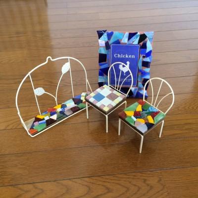 モザイクガラスで作品作り/ガラスアトリエ「セイコグラス」