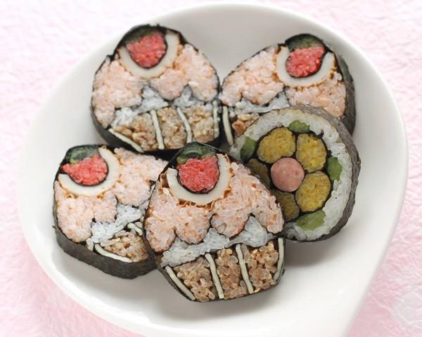 デコ寿司作り