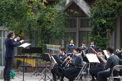 秋のフラワーコンサート